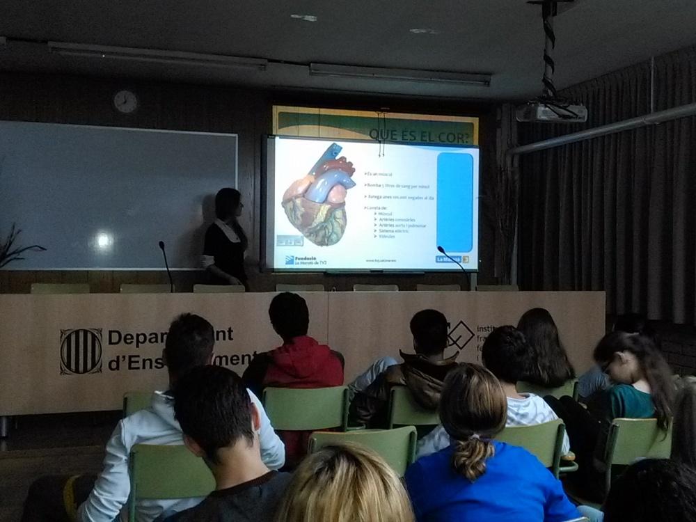 Xerrada sobre Malalties del Cor a càrrec del personal mèdic de la Marató de TV3