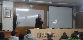 Xerrada sobre les causes i les conseqüències dels conflictes per a 3r d'ESO a càrrec del fotoperiodista Marcello Scotti
